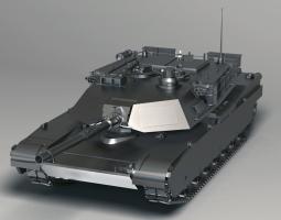 M1A2灯光渲染