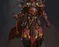 临摹习作-万妖之王