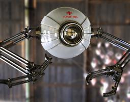 剪辑与包装专业 第三个月 第1周周作业:C4D机器人